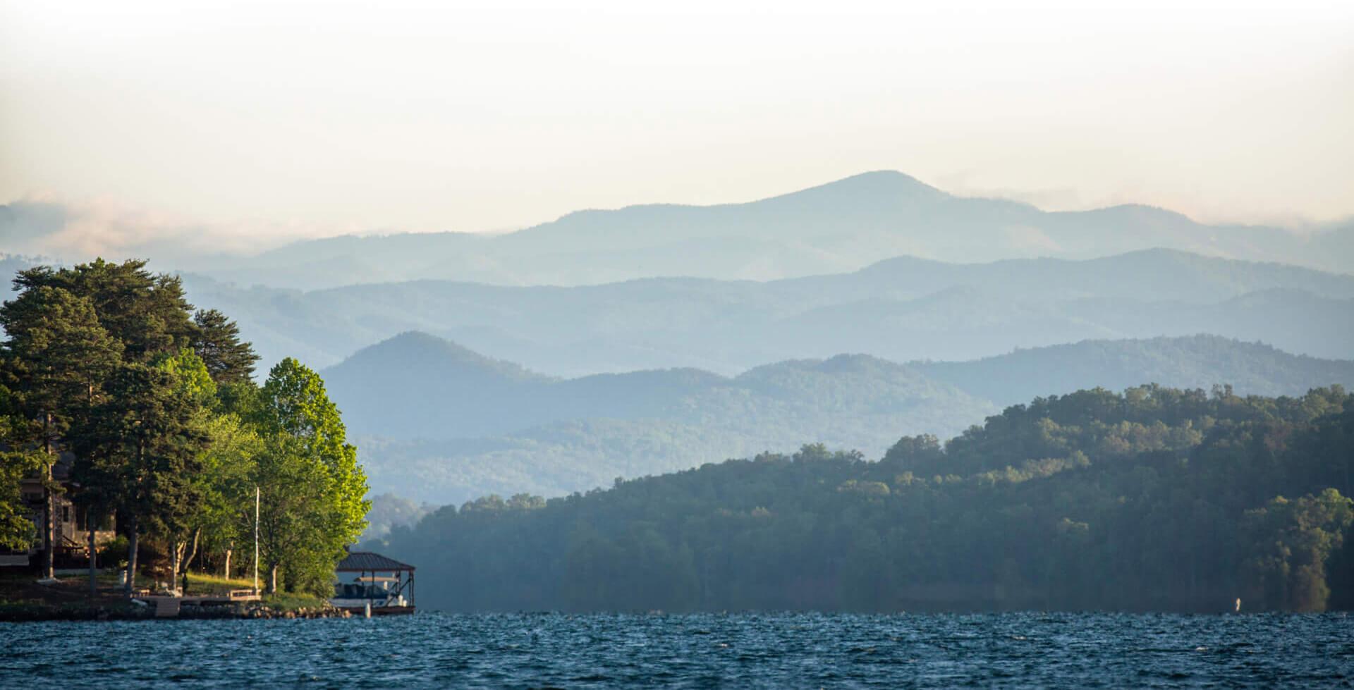 Scenic Oconee Lake