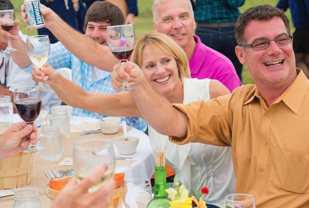 photo of people toasting