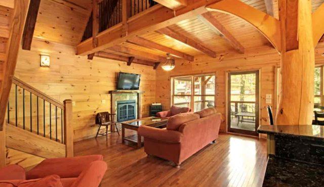 photo inside jawbone cabin