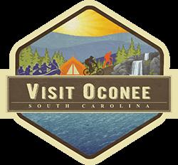 image of visit oconee SC logo