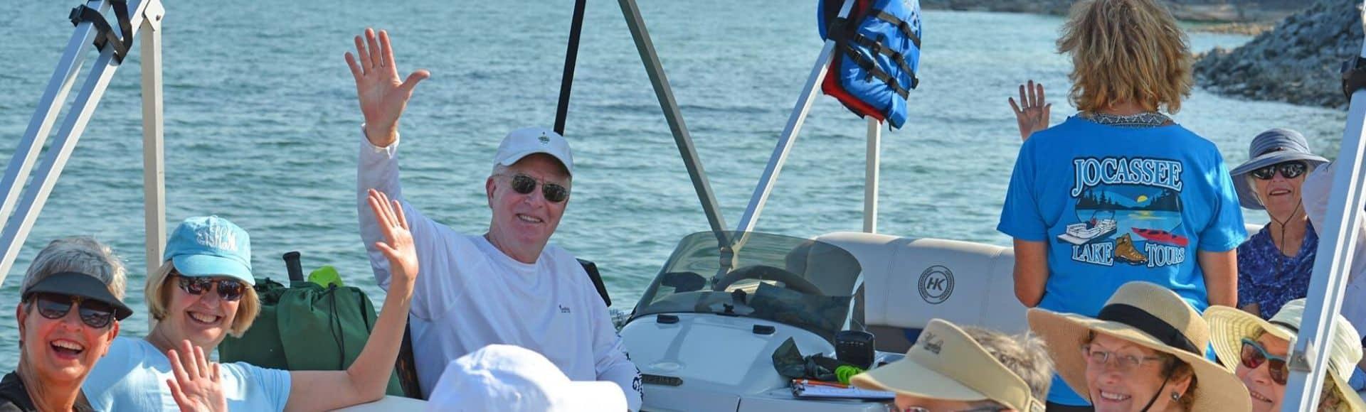 photo of Lake Jocassee Tours boat