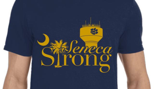photo of seneca strong tshirt