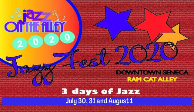 image of flier for Jazz Fest 2020
