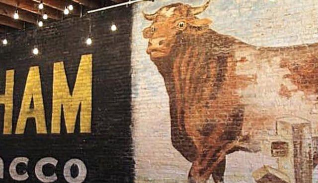 image of bull durham wall mural