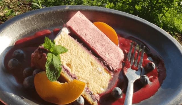 Photo of fresh fruit dessert from Belle's Bistro
