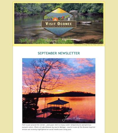 image of the september newsletter