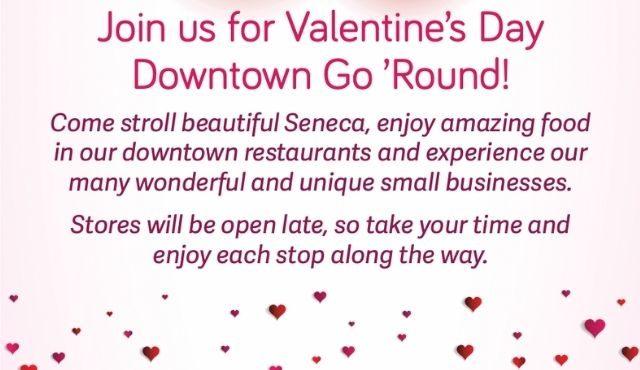 flier image for Seneca Downtown Go Round