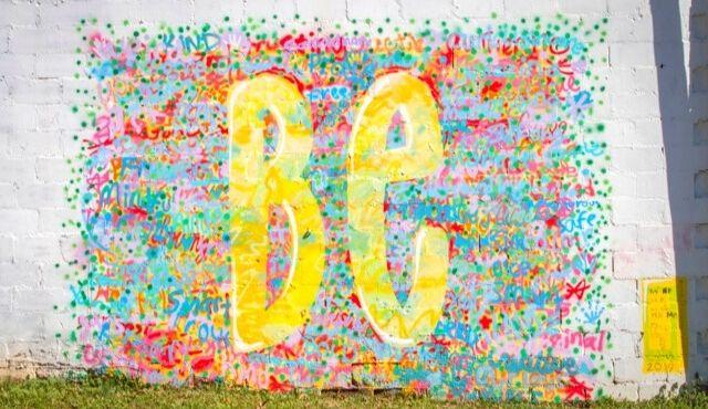 image of Be mural