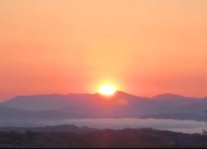 screenshot from Phil Hester's sunrise video