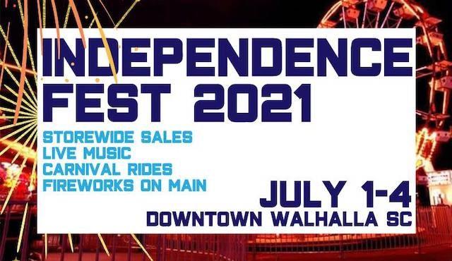 flier for Independence Fest 2021