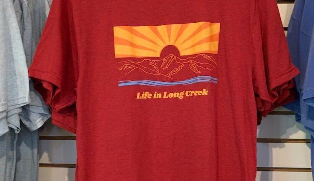 photo of life in long creek shirt