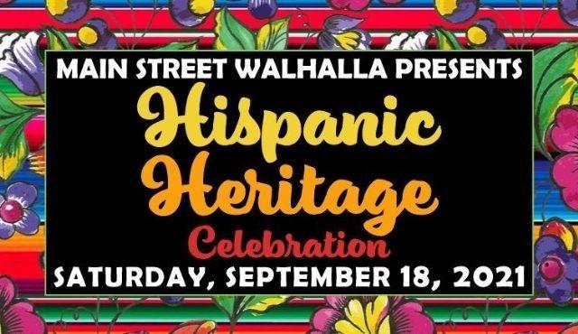 flier for Hispanic Heritage Celebration