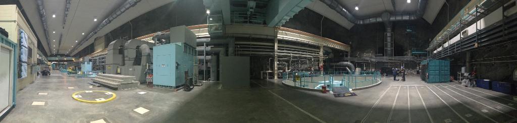 image inside the Bad Creek Hydro Station