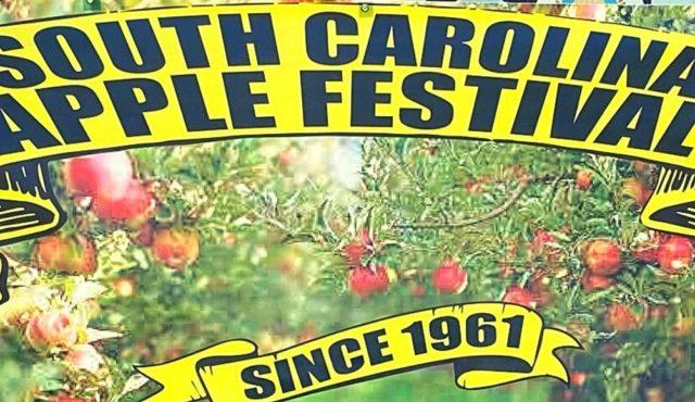 photo of SC apple festival sign