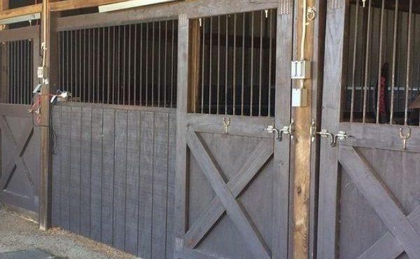 image of barn stalls