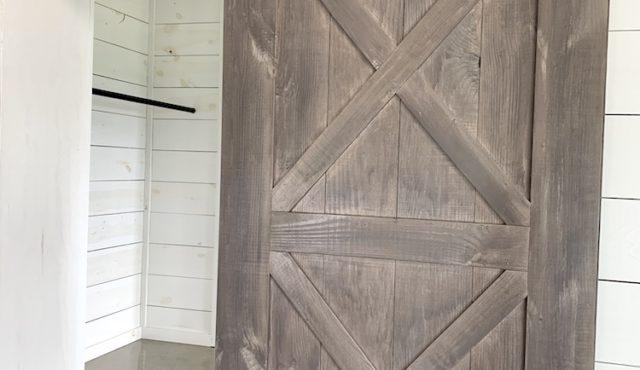 photo of sliding door at The Ridge at Summit Farms