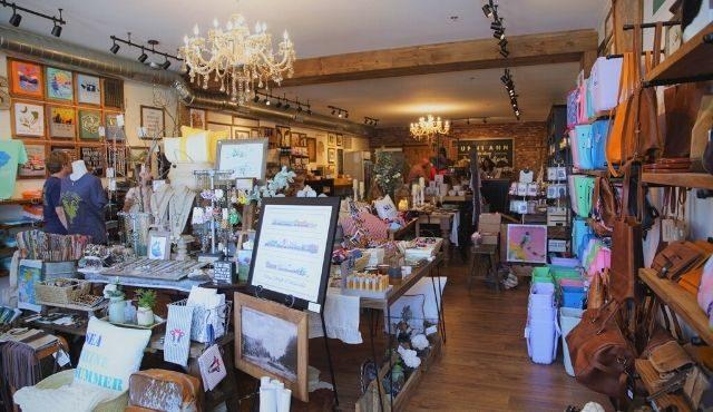 interior of Sunni Ann Rustic Shop