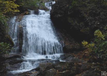 clip from Opossum Creek Falls